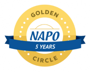 Celebrating 8 years in business; Golden Circle distinction recognizes 5 years in business.